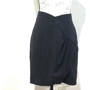 Leifsdottir Black Pencil Skirt